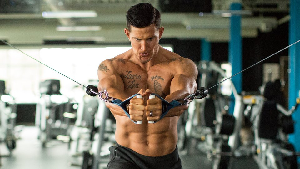 Steve Weatherford's Rapid-Fire Workout
