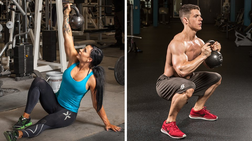 The 6 Best Kettlebell Exercises You Need To Do