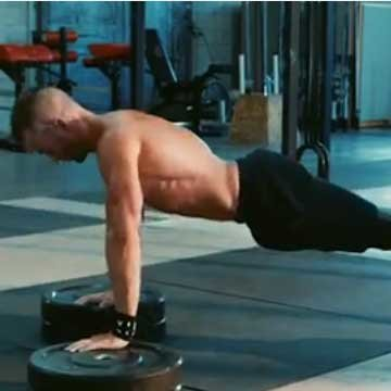 Elevated push-up
