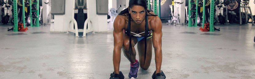 Fitness 360: Gal Ferreira Yates - Brazilian Beauty, Bodybuilding Beast
