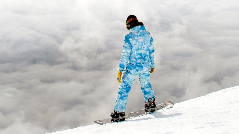 Snowboarders Get Ready