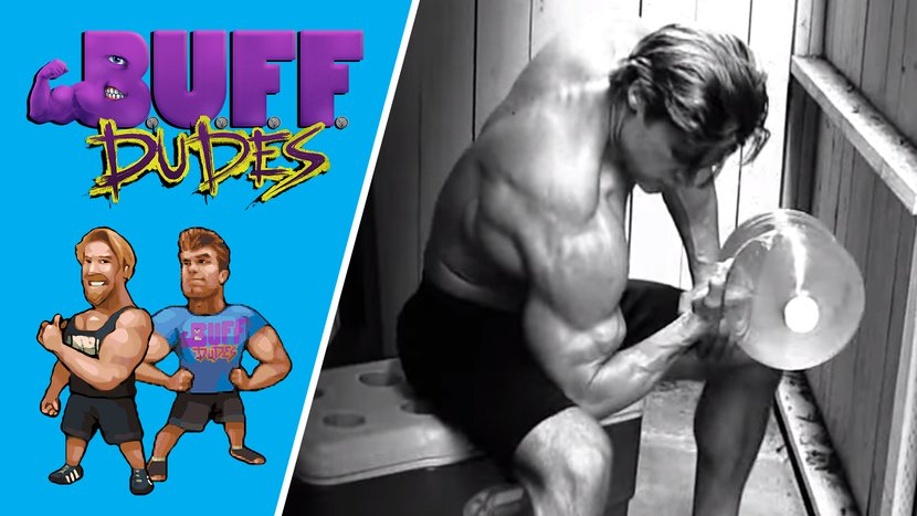 The Buff Dudes' Water-Jug Workout