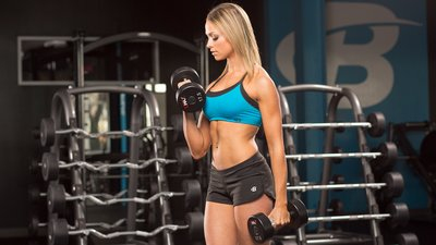 4 Tips For The Skinny Girl: How To Put Muscle On A Slim Body