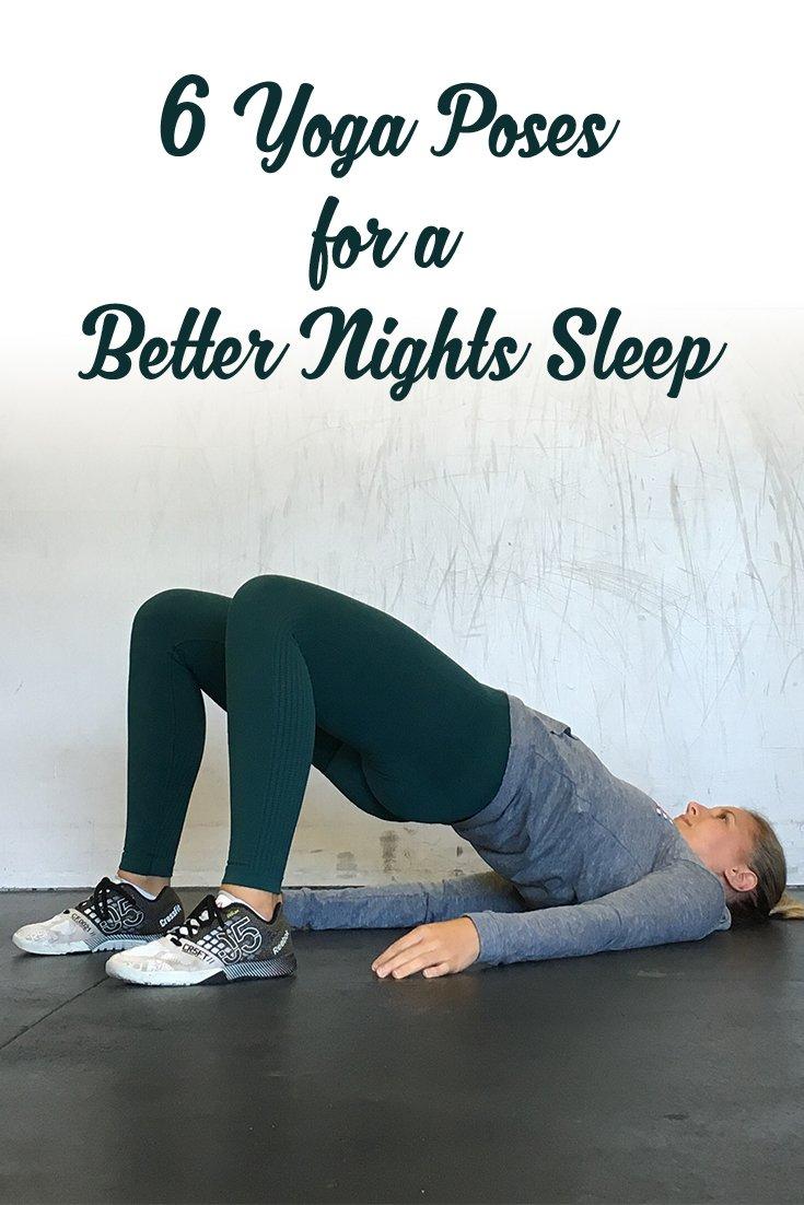 6 Yoga Poses For A Better Night's Sleep   Bodybuilding.com