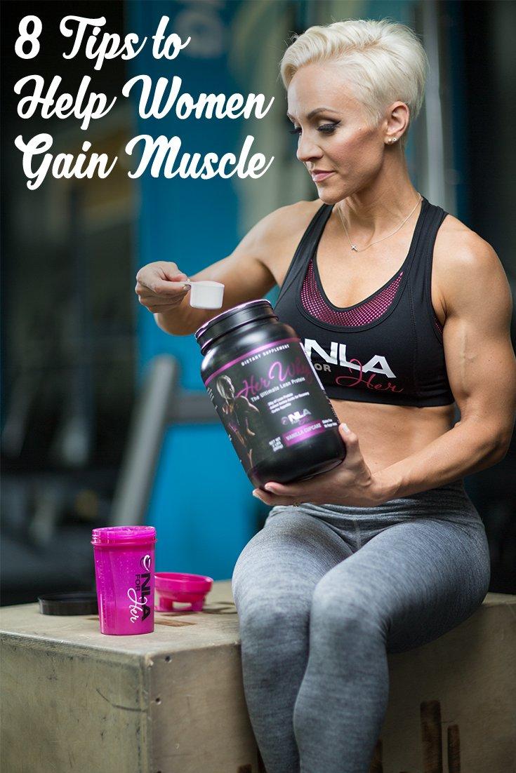 Tips To Help Women Gain Muscle