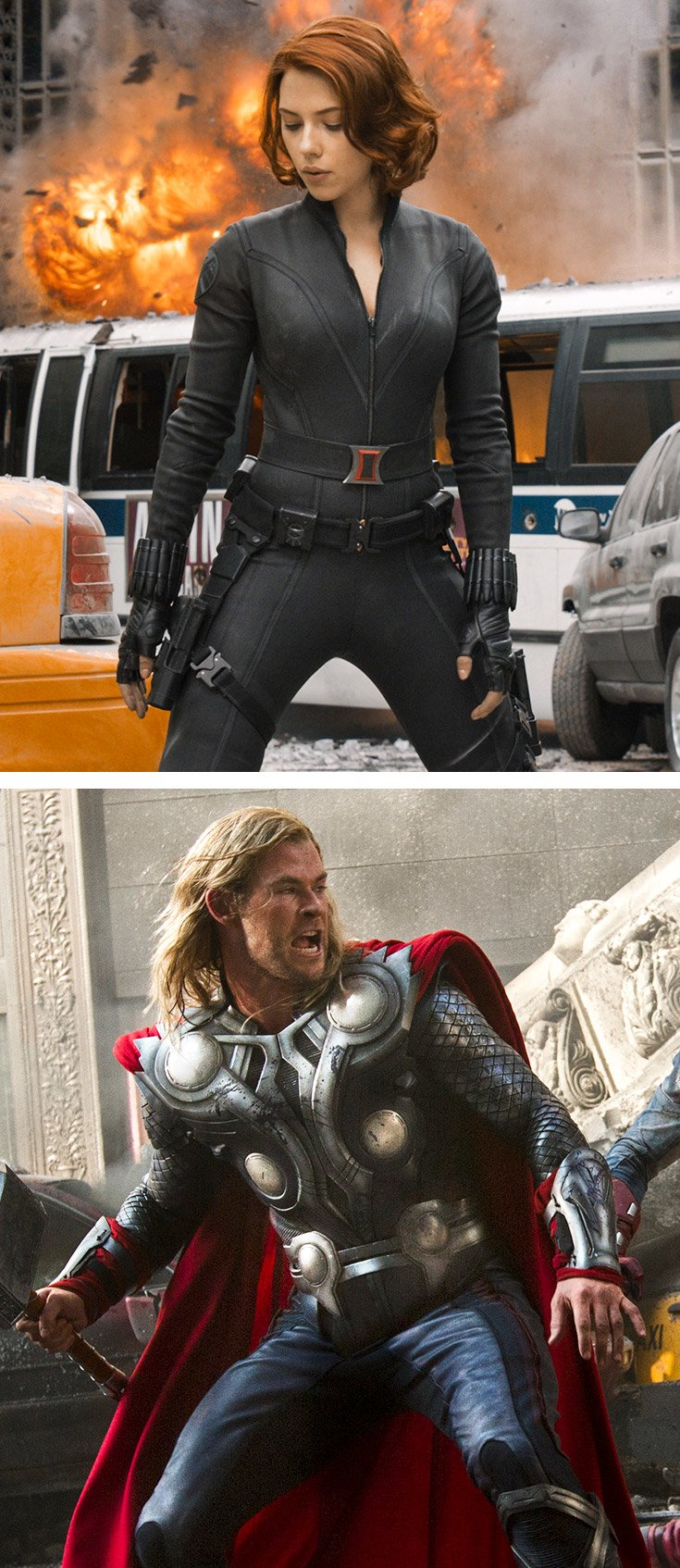 avengers interview chris hemsworth and scarlett johansson s avengers interview chris hemsworth and scarlett johansson s personal trainer