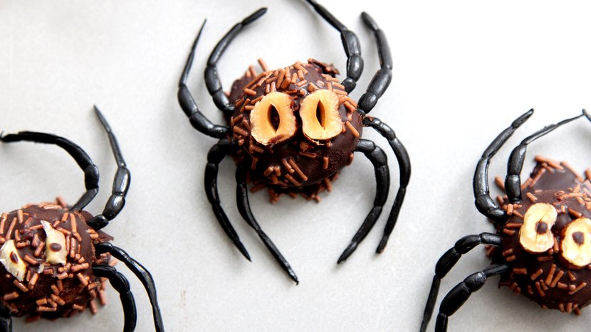 Dark Chocolate Protein Spiders