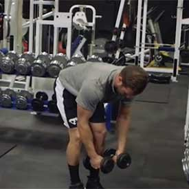 Dumbbell Shoulder A