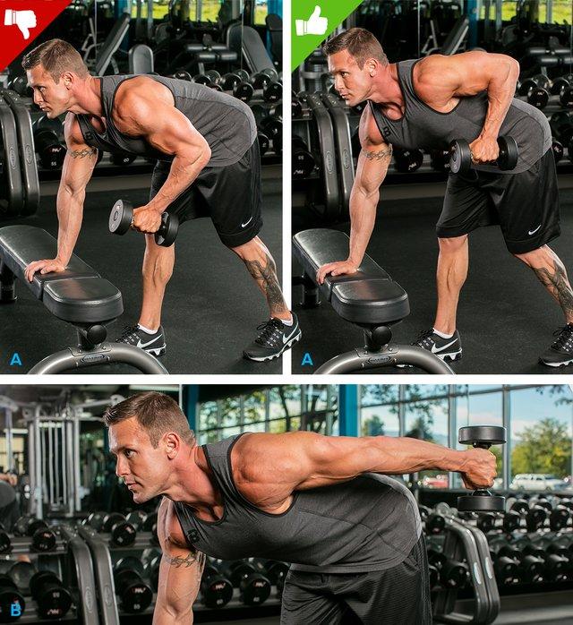 التمرين الصحيح لعضلة الترايسبس