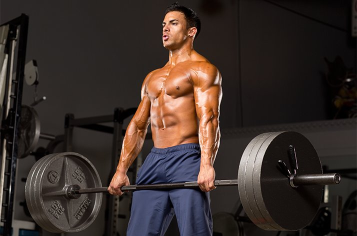 3x3 Powerlifting Program: Low Rep Strength--man deadlifting