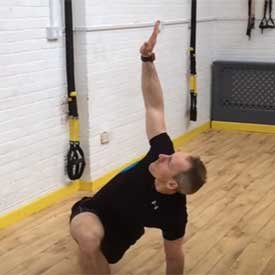 T-spine rotation