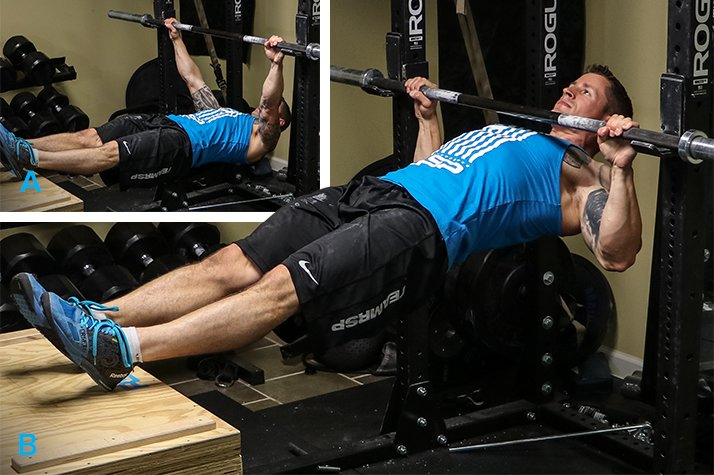 The perfect home gym back attack