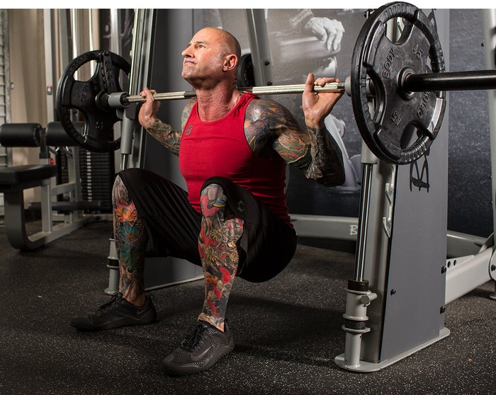 4 Minute Muscle Jim Stoppani's Brutal Full-Body Workout