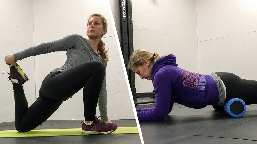 6 Ways To Pair Rolling With Stretching For Serious Mobility!