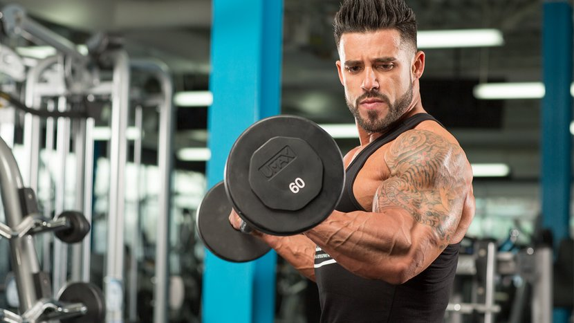 Build Bigger Biceps By Changing Your Reps