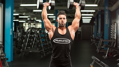 Look Bigger With V-Taper Training