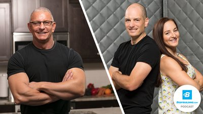 Podcast Episode 13: Robert Irvine - Chef, Lifter, Soldier, TV Star