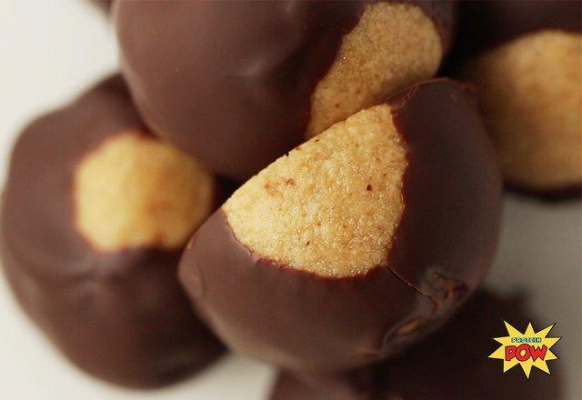 Protein Pow: No Bake Buckeyes