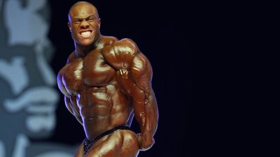 MuscleTech Road To The Olympia Series 2010: Phil Heath's Shoulder Workout. banner