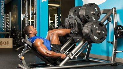 Legs XXL: Lawrence Ballenger's Leg Workout