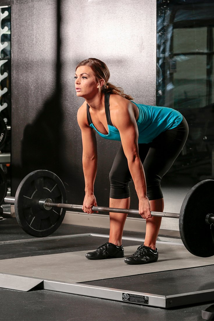Romanian deadlifts training the other half of your leg falaconquin