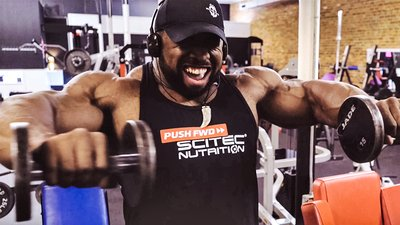 Cedric McMillan: How The Champ Builds His Shoulders In 4 Moves