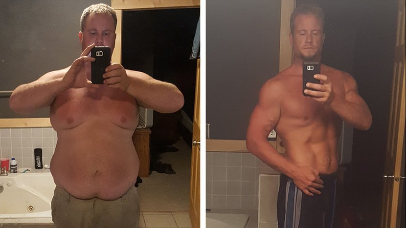 Doug Made Fitness His Top Priority And Lost 136 Pounds!