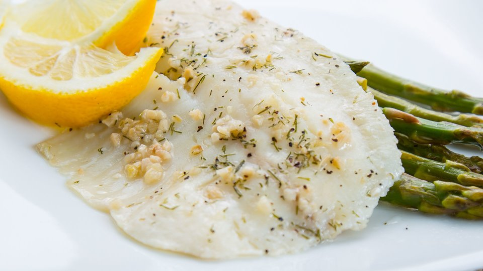 Foil Baked Garlic and Dill Tilapia