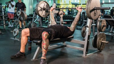 "Jim Stoppani's ""Push Your Strength"" Chest Workout"