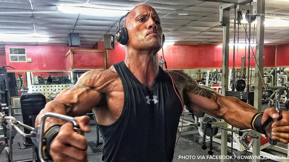 Rock Out: Here's The Rock's Workout Playlist!