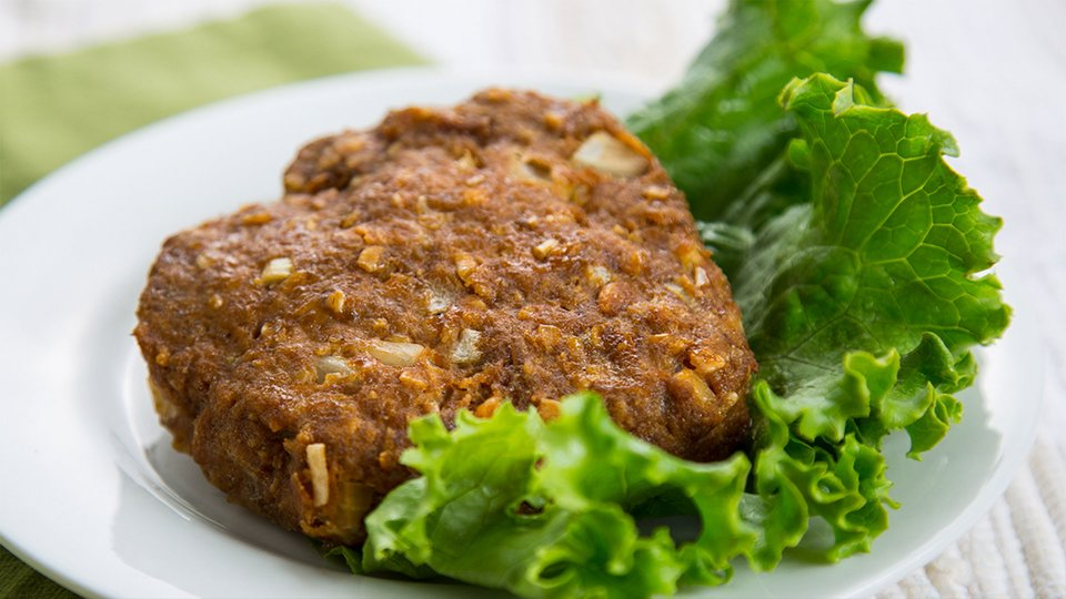 Simple Ground Turkey Burger
