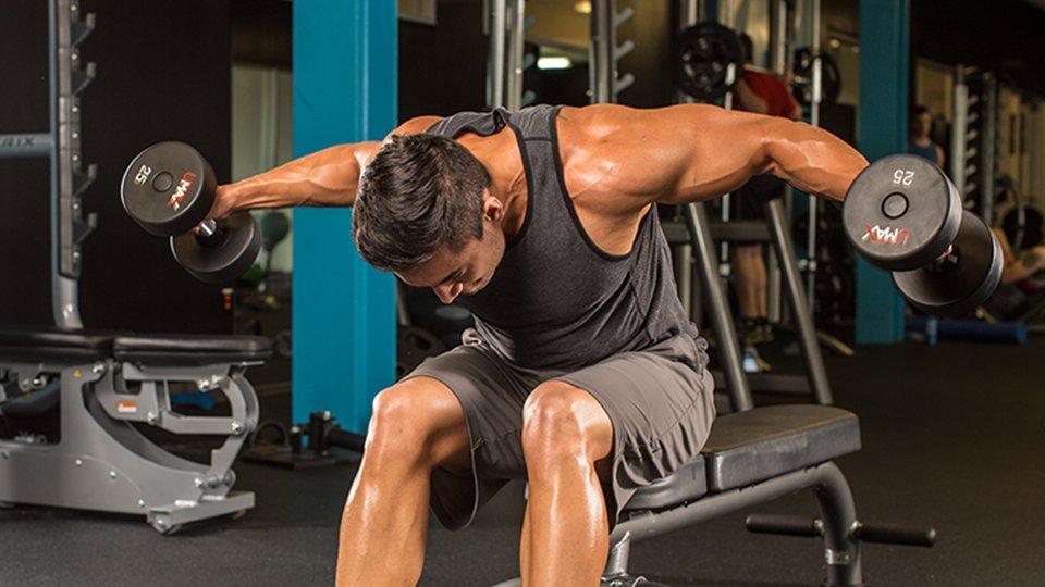 Muscle gain shoulder workout
