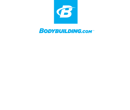 Bodybuilding.com All Access white logo