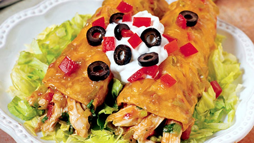 Bill Phillips Back To Fit Recipes: Mom's Chicken Enchiladas