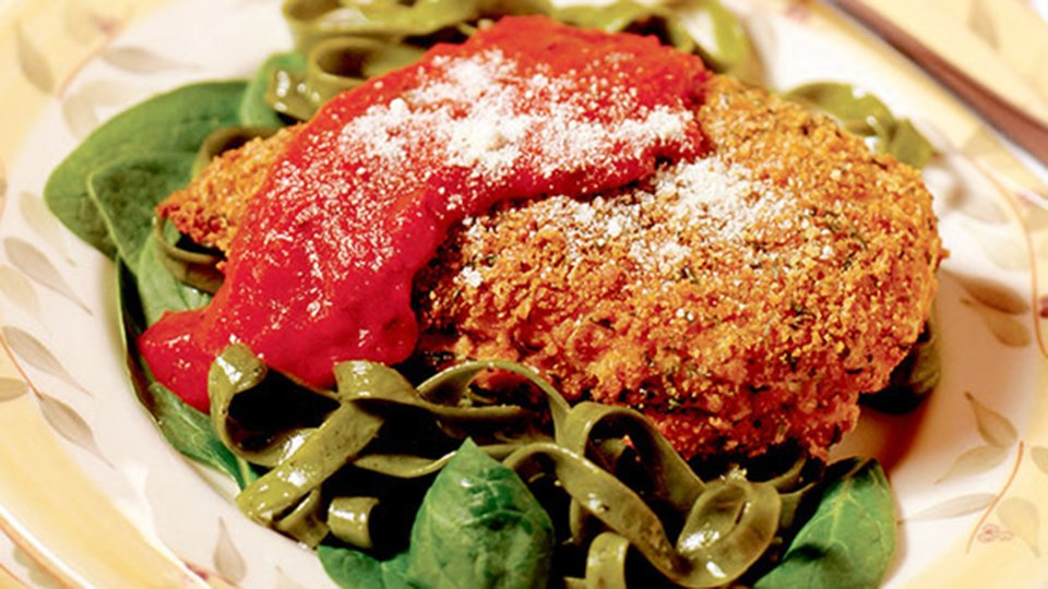 Bill Phillips Back To Fit Recipes: Baked Chicken Parmesan