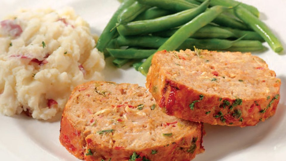 Bill Phillips Back To Fit Recipes: Homestyle Turkey Meatloaf