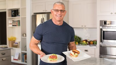 Chef Robert Irvine: Vegetarian Burger