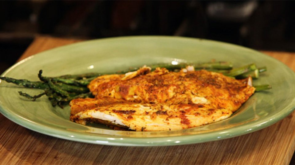 Natalie Hodson's Lime And Curry Tilapia
