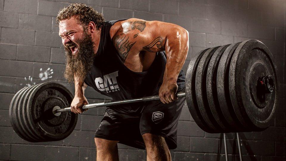 Robert Oberst's Rep-Crazy Strongman Workout