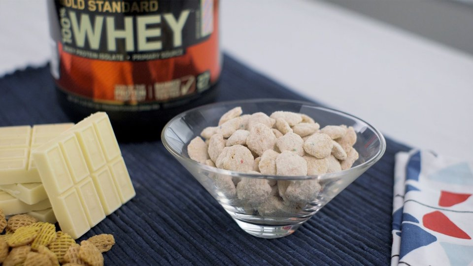 Birthday Cake Protein Chow
