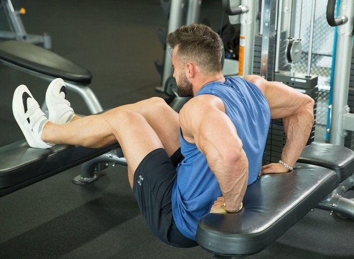 Train With Intensity And Focus bigger chest