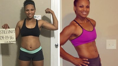 Candace Mixed Fitness With Everyday Tasks And Lost 30 Pounds!