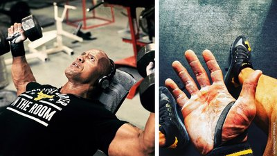 Dwayne Johnson's Rock-Solid Body Plan