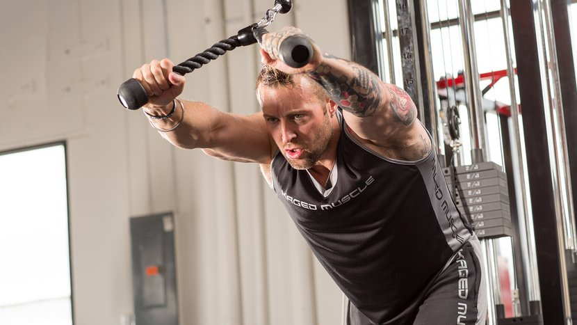 Know The Ropes: 3 Ways To Wring The Life Out Of Your Triceps