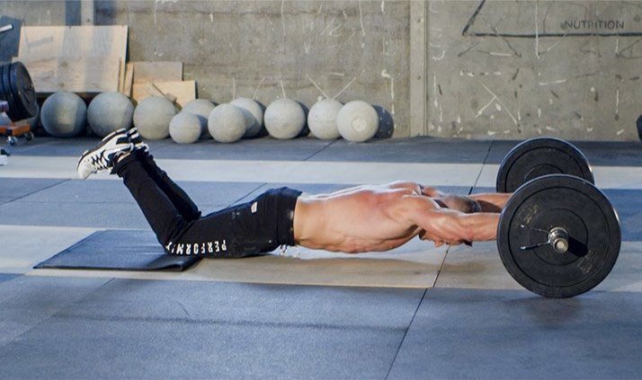 Barbell Ab Roll-out
