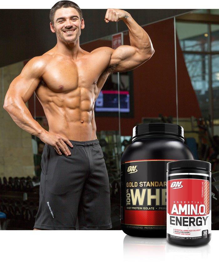 Team Bodybuilding.com's Favorite Supplements: Nick Cheadle