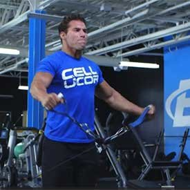 Bilateral cable lateral raise