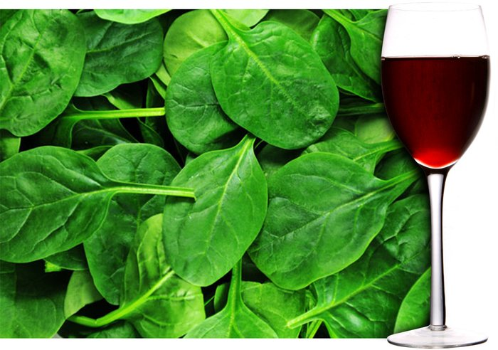 Wine and Spinach