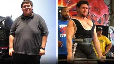 A Car Crash Motivated A 400-Pound Man To Transform His Body