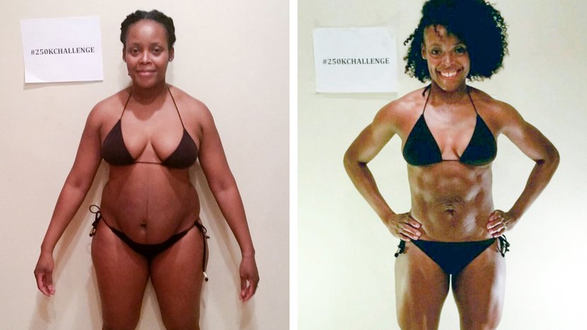 A Transformation Challenge Reignited Sharmaine's Love Of Fitness